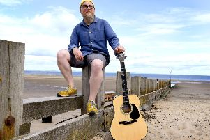 Paul Lambie, organiser of the Big Busk at Portobello Beach and co-owner of The Skylark