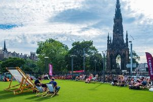 The final few days of the Fringe look set to be a sweltering hot. Picture: Shutterstock