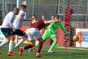 Edinburgh City got the better of Stenhousemuir