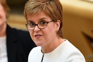 The First Minister has demanded a clear response from Boris Johnson after Philip Hammond said the government needed to apologise to former Ministers over Yellowhammer leak allegations.