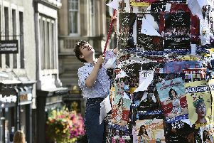 The final Edinburgh Festival Fringe shows are being staged across the city today.