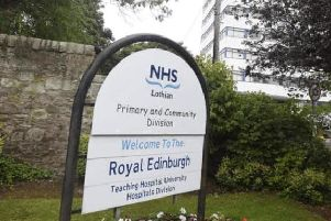 Kitchens at the Royal Edinburgh Hospital were cited after inspectors found evidence of mouse droppings in the kitchens.