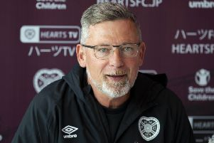 Hearts manager Craig Levein. Pic: SNS