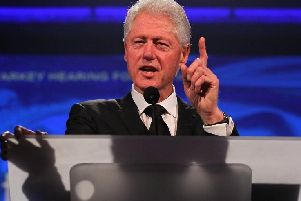 Former US President Clinton will appear at the conference next year
