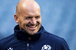 Gregor Townsend wants to see an improved performance