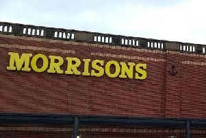 Stephen Suttie spoke the officer in an aisle in the Morrisons in Paisley, near Glasgow - just 10 days after he tried and failed to seduce another woman at the checkouts.