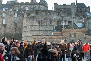 Edinburgh's popularity with tourists is important for the whole of Scotland (Picture: Ian Georgeson)