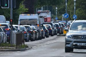 66 per cent of trips involve motorists driving alone compared to 56 per cent two decades ago. Picture: Jon Savage