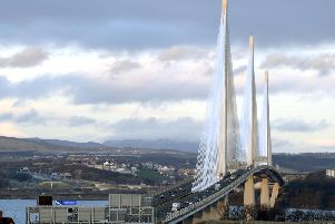 Galliford Try was part of the consortium behind the construction of the delayed Queensferry Crossing across the river Forth. Picture: Lisa Ferguson