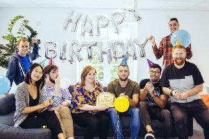 The GearedApp team celebrates its sixth anniversary this week. Picture: Contributed
