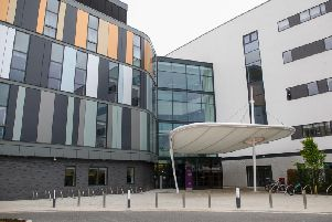 The much-delayed new hospital will not open until autumn next year.