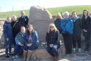 Descendants of Scots soldiers who were shipped to North America as indentured servants following the 1650 Battle of Dunbar have arrived in East Lothian to commemorate their relatives on the anniversary of the clash. PIC: Contributed.