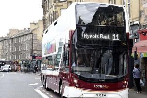 Lothian Buses has raised concerns about the impact of the city centre transformation