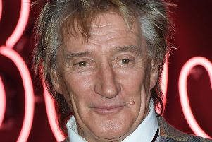 Rod Stewart told fans the news.