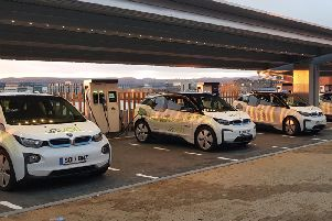 Forev, which pledges to only use 100 per cent accredited clean energy, believes installing fast chargers on busy public sites is the best solution. Picture: Contributed