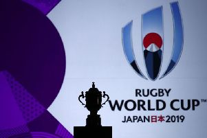 The 2019 Rugby World Cup's opening press conference was held in Tokyo today. PICTURE: Getty Images