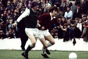 Bobby Prentice was well-known for his wing play at Hearts. Pic: SNS