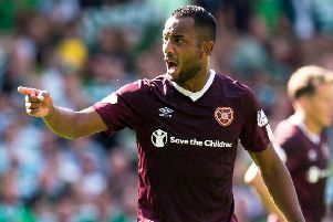 Loic Damour is sure Hearts fans will soon see positive results