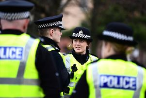 A draft proposal for an Old Town business improvement district (BID) contains the idea that it could pay for a 'dedicated BID police officer' (Picture: John Devlin)