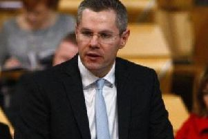 Derek Mackay has warned of recession