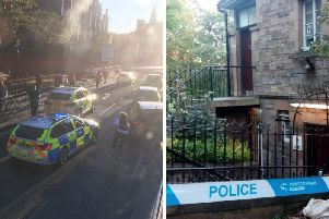 Police and paramedics were called to the public toilets in Princes Street this evening.