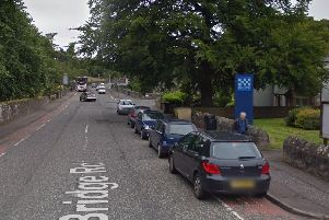 The man was reportedly seen in the Balerno area. Picture: Google Street View