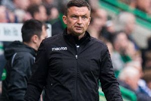 Hibs supporters have lost faith in Paul Heckingbottom.
