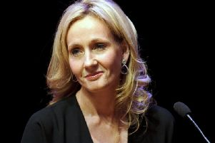 Author J.K. Rowling attends photocall ahead of her reading from 'The Casual Vacancy' at the Queen Elizabeth Hall. Picture: Getty Images