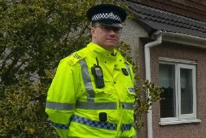 Sergeant Andy Sawers of the Formartine Community Policing Team