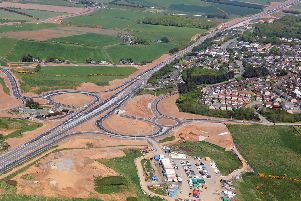 The new Balmedie junction