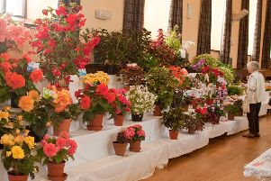 The Ellon Flower Show will be held this Saturday in The Victoria Hall.