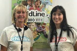 Carrie Zeiler, who has embarked on a new career after volunteering with Childline.