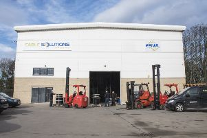 The companies' new premises on Blackhall Industrial Estate. Both firms are aiming to expand their operations with the new building.