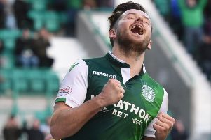 Marc McNulty has scored seven goals for Hibs since joining on loan from Reading ' and has won two Scotland caps