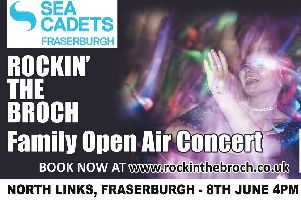 We have two Gold tickets to give away for Rockin' The Broch
