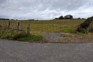 The site of the new cemetery near Ellon