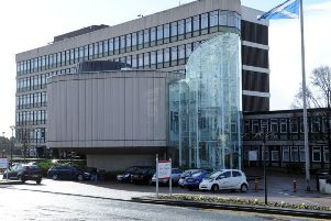 North Lanarkshire Council HQ, whose chief executive says the problems are now behind them.