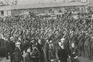 Soldiers from the 2/10 Battalion returning to Leith in June 1919. Some 400 were invited to lead the Marches Day parade on June 17 that year, a spectacle which will be repeated on Tuesday, June 18, 2019, thanks to the Royal Regiment of Scotland.