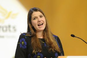 Jo Swinson is the running to become UK Lib Dem leader. Picture: John Devlin