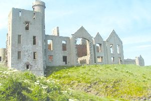 One of the walks will include a visit to Old Slains Castle