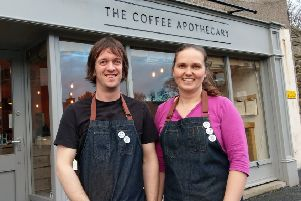 Owners Jonny and Ali Aspden