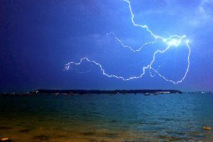 There could be more lightning and floods on the way.