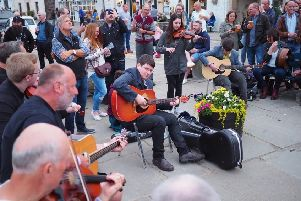 Musicians strike a chord with crowds at the festival. Picture: David Flett