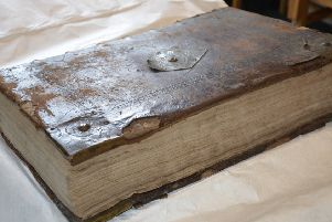The bible is regarded as one of the finest printed in the UK