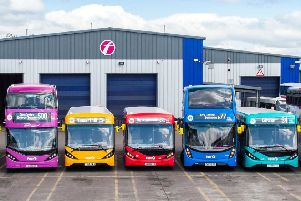 First Glasgow says it is reinvesting fares to improve its bus services across the area. (Photo: Lenny Warren)