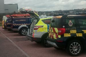 Police, coastguard and RNLI staff are looking for a missing 30-year-old woman at Seafield.