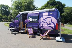 Alzheimer Scotlands Memory Bus is at Fraserburgh Community and Sports Centre on Monday, September 9 to stage Dementia Friends information sessions