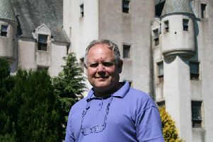 John Andrea, director of Leslie Castle, has seen a surge in bookings thanks to DigitalBoost.