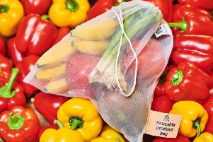 The reusable fresh produce bags