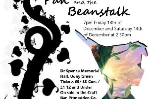 The poster for Pan and the Beanstalk